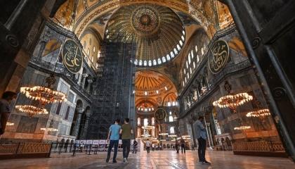 بومبيو يحث تركيا على عدم المساس بـ«آيا صوفيا».. والقضاء يحسم بعد 15 يومًا