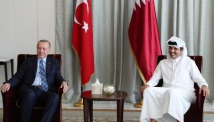 لماذا زار الرئيس التركي قطر؟ تفاصيل اللقاءات المغلقة بين أردوغان وتميم