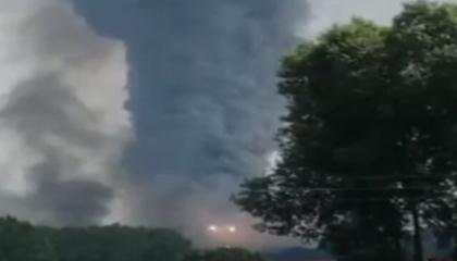 الصحة التركية: مصرع 4 عمال وإصابة 97 في انفجار مصنع للألعاب النارية بصقاريا
