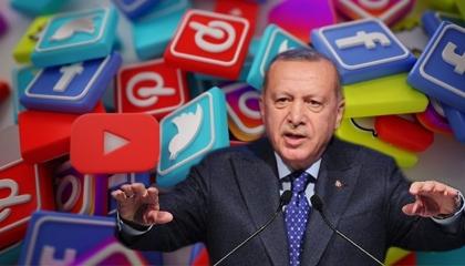 صحفي تركي: أردوغان يهدد بإغلاق منصات التواصل وحزبه الأكثر استخدامًا لها