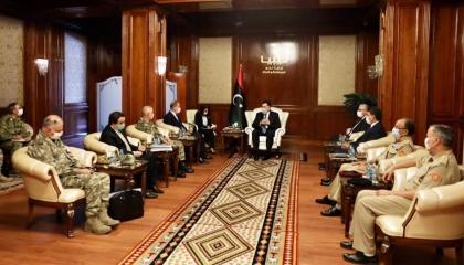تركيا تبدأ في إنشاء قاعدة عسكرية على الأراضي الليبية بمساعدة الوفاق