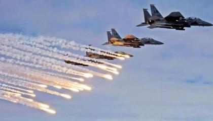 أنباء عن مقتل قائد تركي و 6 ضباط في الغارات الجوية على قاعدة الوطية