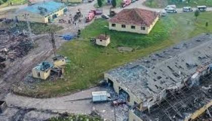 محافظ صقاريا يعلن ارتفاع عدد ضحايا انفجار مصنع الألعاب النارية بصقاريا