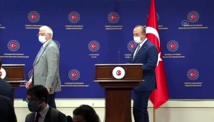 بوريل يصدم أنقرة: علاقاتكم بأوروبا لا تسمح بالحديث عن الانتساب للاتحاد الآن
