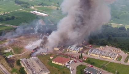 بعد تضارب الأرقام الرسمية.. الحكومة تؤكد مصرع 7 في انفجار مصنع صقاريا