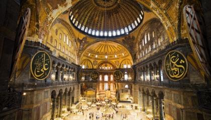 رسميًا.. مجلس الدولة التركي يوافق على تحويل متحف «آيا صوفيا» إلى مسجد