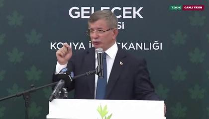 داود أوغلو يسخر من أردوغان: يتمسح دائمًا في سيرة عمر بن الخطاب