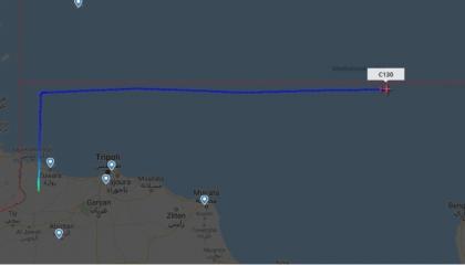 لليوم الثالث.. هبوط طائرة تركية عسكرية إلى قاعدة الوطية الليبية