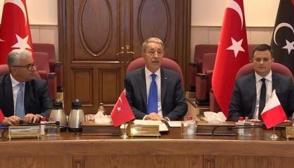 اللقاءات الخمسة.. اجتماعات عسكرية بين تركيا وقطر والوفاق وإيطاليا ومالطا