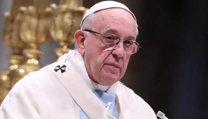 البابا فرنسيس يدعو إلى وقف القتال في إسرائيل والأراضي الفلسطينية