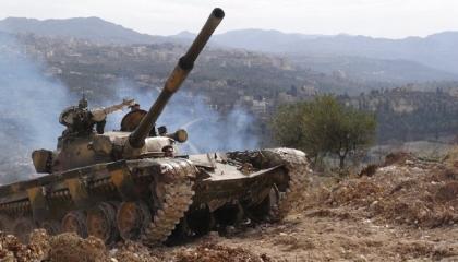 قصف صاروخي تركي يستهدف مواقع قوات الجيش السوري في إدلب