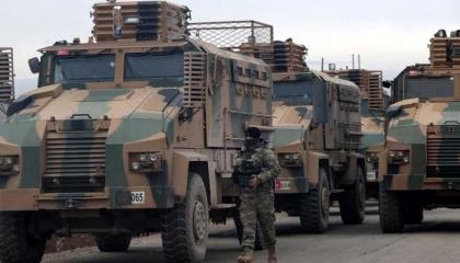 دخول تعزيزات عسكرية تركية جديدة إلى إدلب عبر كفر لوسين