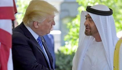 ترامب وبن زايد يشددان على دعم إعلان القاهرة وإخراج القوات الأجنبية من ليبيا