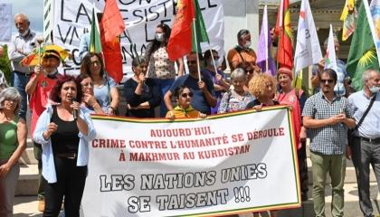 مسيرة احتجاجية بالعاصمة السويسرية ضد تركيا في الذكرى الـ97 لمعاهدة «لوزان»