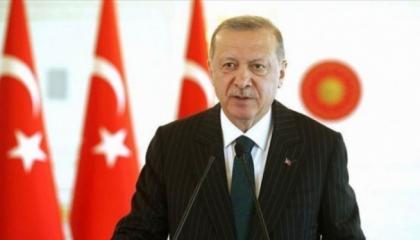 أردوغان يهاجم المعارضين لتدخلاته في شرق المتوسط ومتاجرته بآيا صوفيا
