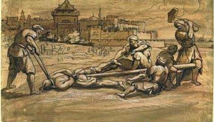 الخنق والكرابيج والخازوق.. وسائل التعذيب والإعدام عند العثمانيين