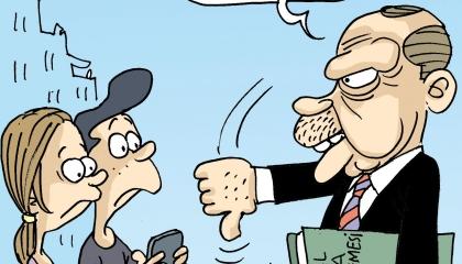 كاريكاتير.. أردوغان: حان دوري لرد صفعة «لا يعجبني»!
