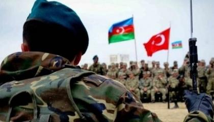 استمرار المناورات التركية الأذربيجانية على الحدود الأرمينية