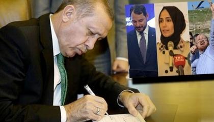 فضيحة.. أردوغان قدم إعفاءات ضريبية كاملة لـ43 وقفًا تابعًا لأبنائه وأقاربه