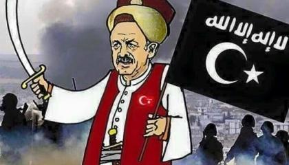 كاريكاتير السلطان العثماني المزعوم