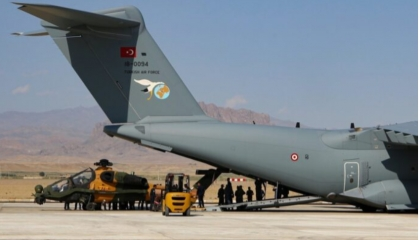 بالفيديو.. تركيا تنشر طائرات هليكوبتر هجومية من طراز «T129» في أذربيجان