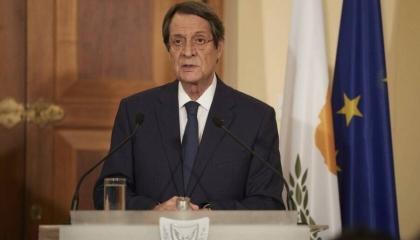رئيس قبرص: لن نقبل بالابتزاز التركي وتهديدات أنقرة لن تمر دون رد