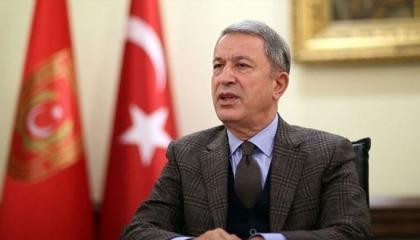 وزير الدفاع التركي: نتعاون مع أشقائنا الليبيين.. وكنا معهم منذ 500 عام