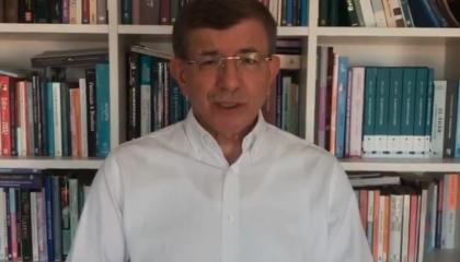 داود أوغلو منتقدًا قانون «التواصل الاجتماعي»: أردوغان يخشى التفكير الحر