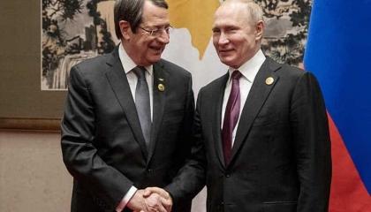 رئيس قبرص يطلب من بوتين التدخل لوقف انتهاكات أردوغان في المنطقة الاقتصادية