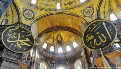 صحف تركية: أردوغان اعترض على تحويل «آيا صوفيا» لمسجد وتقبل احترامًا للقضاء!