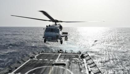 بالصور.. تدريبات للقوات البحرية التركية في المتوسط