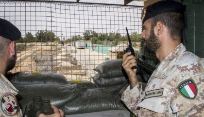 صحيفة إيطالية: «الوفاق» تعيد جنودًا طليان بالمستشفى الميداني إرضاءً للأتراك