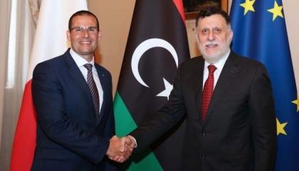 وفد أمني من مالطا بزعامة رئيس الأركان يزور طرابلس اليوم