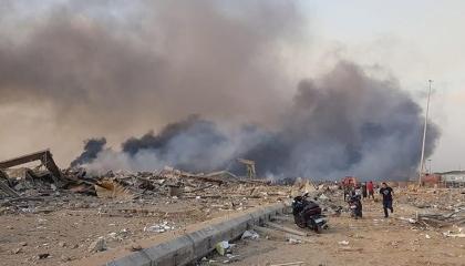 إصابة 3 أتراك أحدهم بالخطوط الجوية التركية في انفجار بيروت