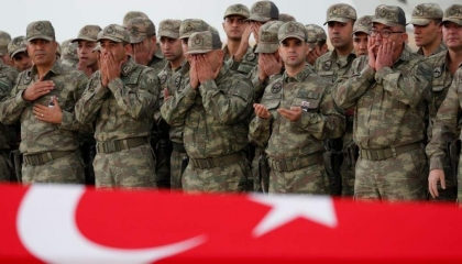 مقتل جندي تركي في مدينة رأس العين بسوريا