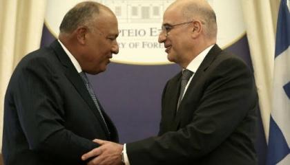 توقيع اتفاقية ترسيم الحدود البحرية بين مصر واليونان