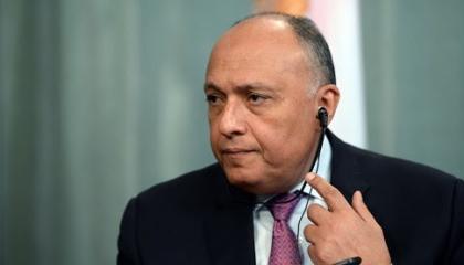 وزير الخارجية المصري يبحث مع نظيره الأمريكي سبل استقرار ليبيا