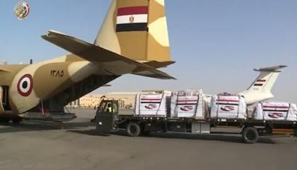 مصر ترسل طائرة مساعدات ثانية إلى لبنان لمواجهة تداعيات انفجار بيروت