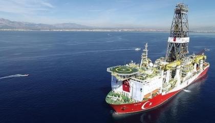 بدعوى إجراء مسح زلزالي.. البحرية التركية ترسل سفينة للتنقيب شرق المتوسط