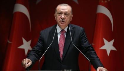 من جديد.. أردوغان يدعو دول المتوسط للحوار.. ويهدد: لن نسمح بنهب حقوقنا