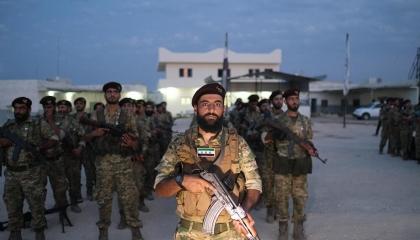 الجيش الليبي يقصف رتلًا عسكريًا يحمل مرتزقة سوريين حاول التقدم نحو سرت