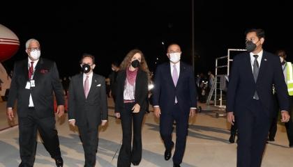 وزير الخارجية التركي يصل الدومينيكان استعدادًا للقاء نظيره الأمريكي غدًا