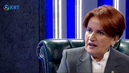المرأة الحديدية: لن أتحالف مع أردوغان ولو صوبوا المسدس إلى رأسي