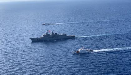 بالصور... تركيا تواصل استفزازاتها وتدفع بسفينة تنقيب أخرى إلى شرق المتوسط