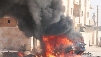 قتلى وجرحى بصفوف ميليشيات تركيا في انفجار بريف تل أبيض السورية المحتلة