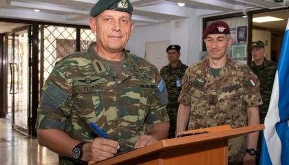 اتصالات بين رئيس أركان الجيش اليوناني ونظيريه المصري والإماراتي