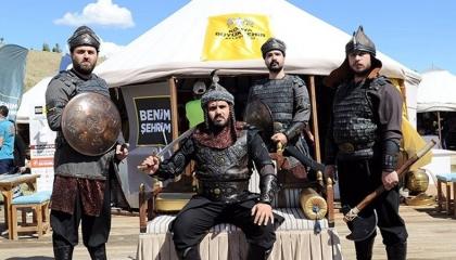 وَقْف بلال أردوغان يهدر 46 مليون ليرة على احتفالات أسر إمبراطور بيزنطة