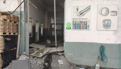 بالصور.. انفجار مصنع كماليات معدنية في إسطنبول