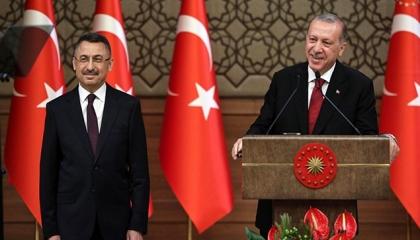 نائب أردوغان يتولى مهام الرئاسة التركية بدءًا من اليوم