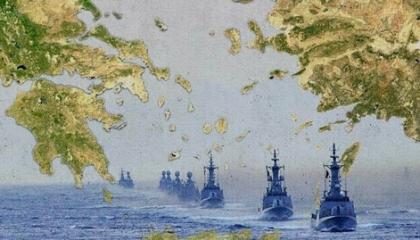 الجيش اليوناني يتقدم في شرق المتوسط وأنباء عن تعزيز القوات بجزيرة ميس